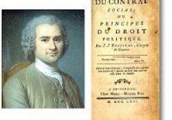 o contrato Social de Rousseau