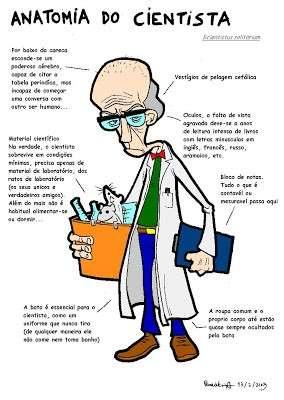 estereótipo cientista