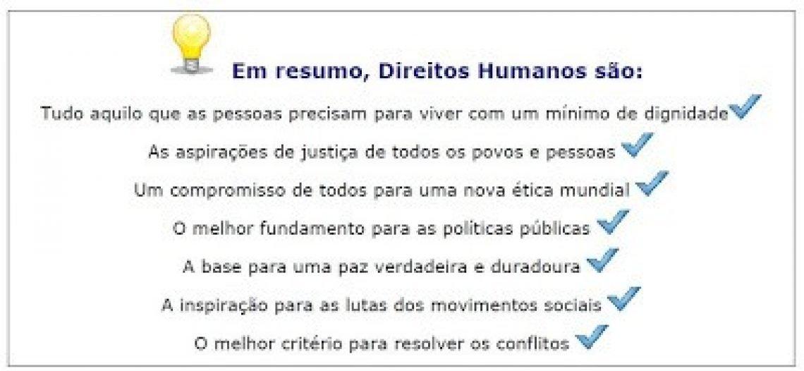 Resumo direitos humanos