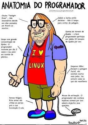 estereótipo programador