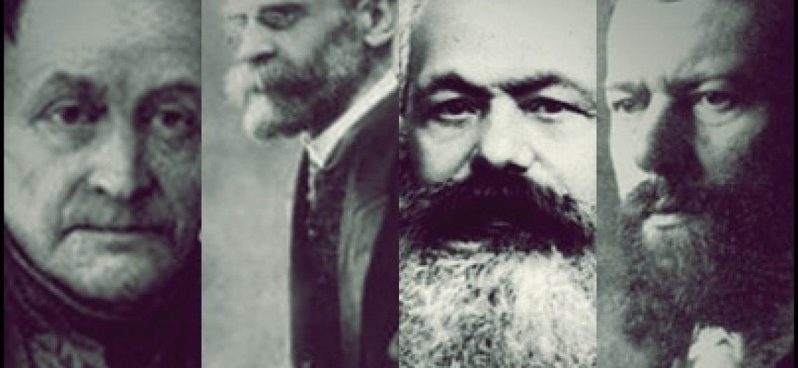 Clássicos da sociologia: Comte, Marx, Durkheim e Weber