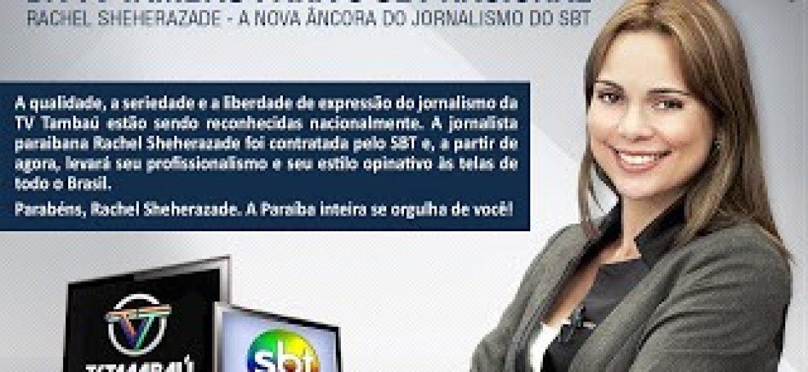 Entrevista a jornalista Rachel Sheherazade
