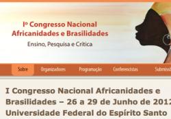 I Congresso Nacional Africanidades e Brasilidades