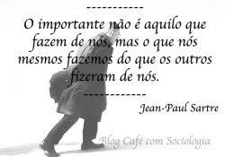 Frase de Jean-Paul Sartre