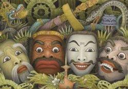 Onacirema – adaptado de Ritos corporais entre os Nacirema (Horace Miner)
