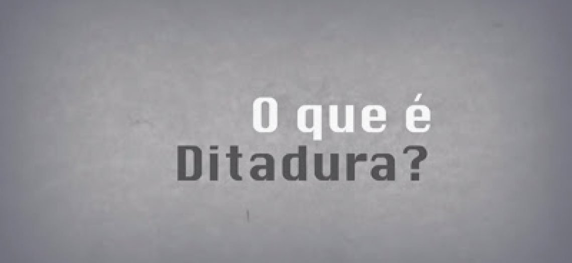 """Em meio aos gritos """"Ditadura Já"""", surge a seguinte questão: afinal, o que são ditaduras?"""