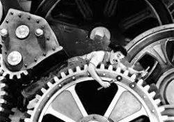 """Roteiro para discutir o filme """"Tempos Modernos"""""""