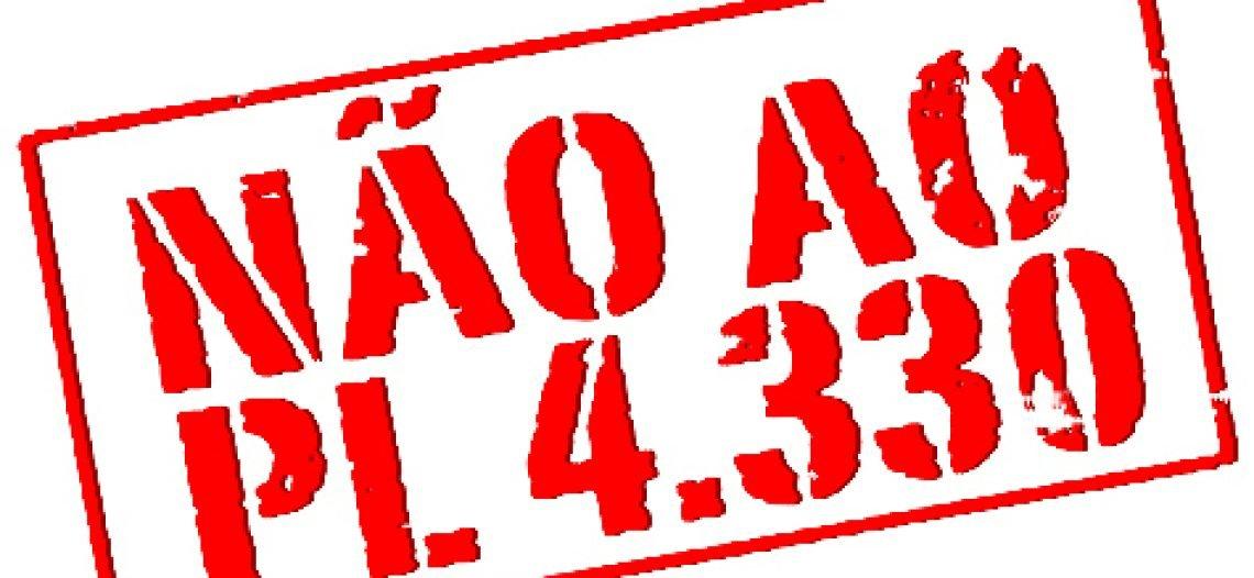 Dossiê: Não ao PL 4330 da terceirização