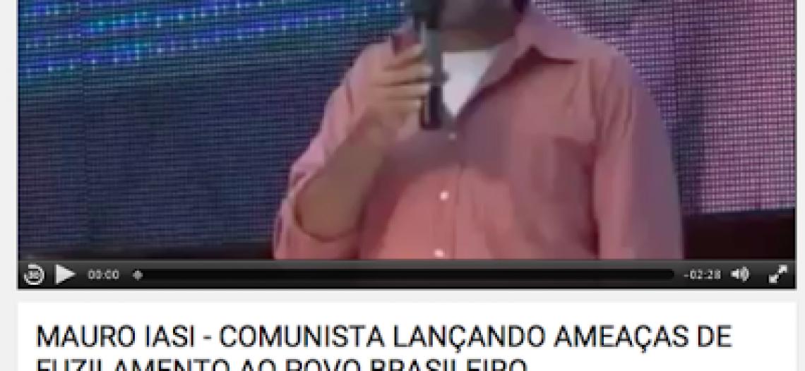 Mauro Iasi, manipulação midiática e ignorância: mais um caso de desinformação que assola o país