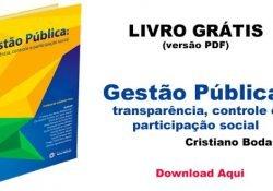 """Livro para download: """"Gestão Pública: transparência, controle e participação social""""."""