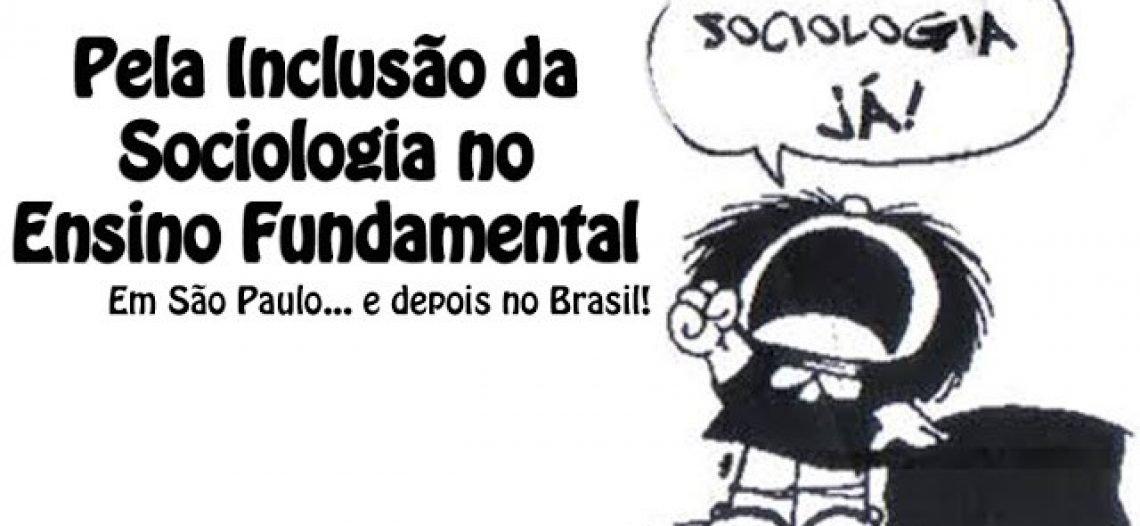 Proposta de inclusão da disciplina Sociologia no Ensino Fundamental no Estado de São Paulo