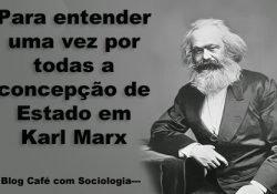 Para entender uma vez por todas a concepção de Estado para Karl Marx