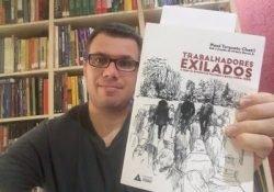 """Sorteio do livro """"Trabalhadores Exilados: a saga de brasileiros forçados a partir (1964-1985)"""""""