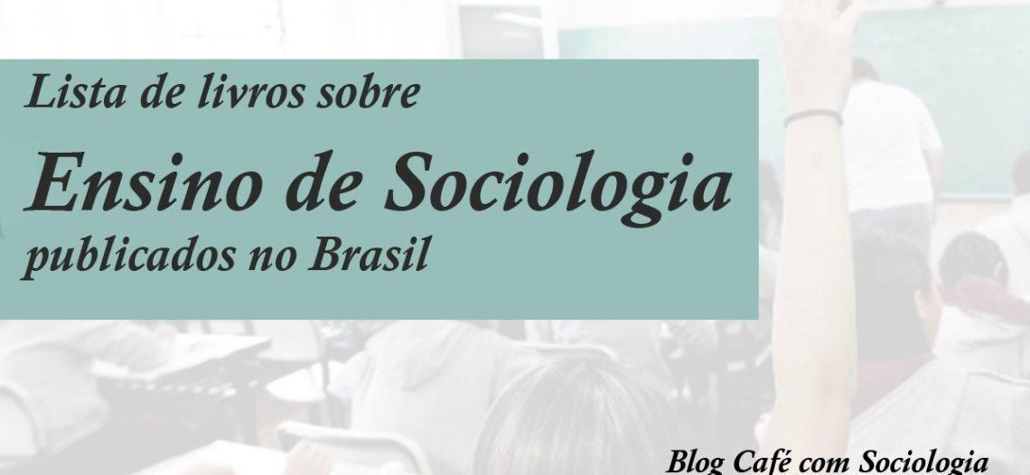 Livros – Ensino de Sociologia