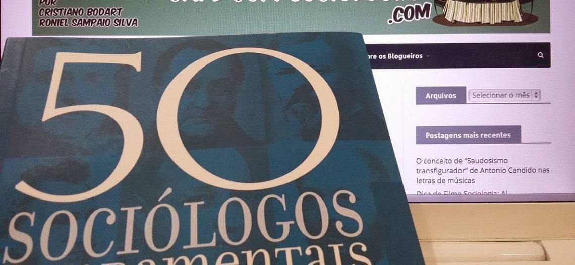 """Resultado do Sorteio de livro: """"50 Sociólogos Fundamentais"""", de John Scott"""