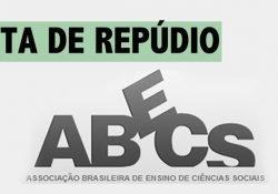 Nota de repúdio da ABECS