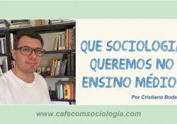 Especificidades da Sociologia no Ensino Médio