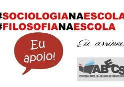 A ABECS promove abaixo assinado em defesa do ensino de Sociologia e Filosofia