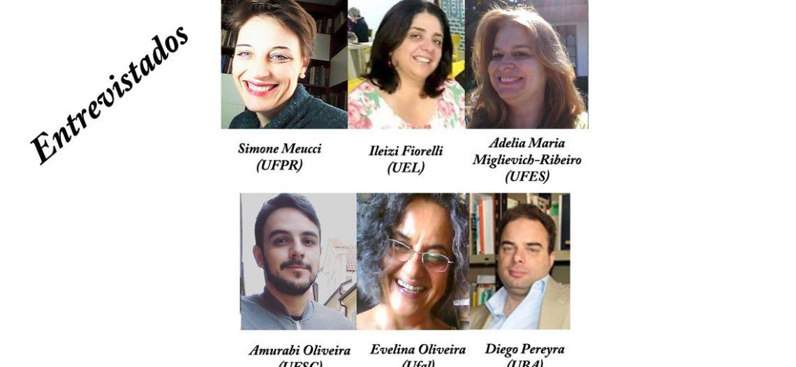 Entrevistas a alguns dos pesquisadores da temática ensino das Ciências Sociais