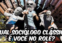 Weber, Marx ou Durkheim? descubra qual sociólogo clássico é você no rolê?