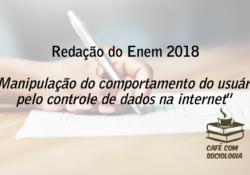 Nossa colaboração ao tema do ENEM 2018