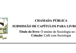 Chamada pública para submissão de capítulo de livro físico: ensino de Sociologia