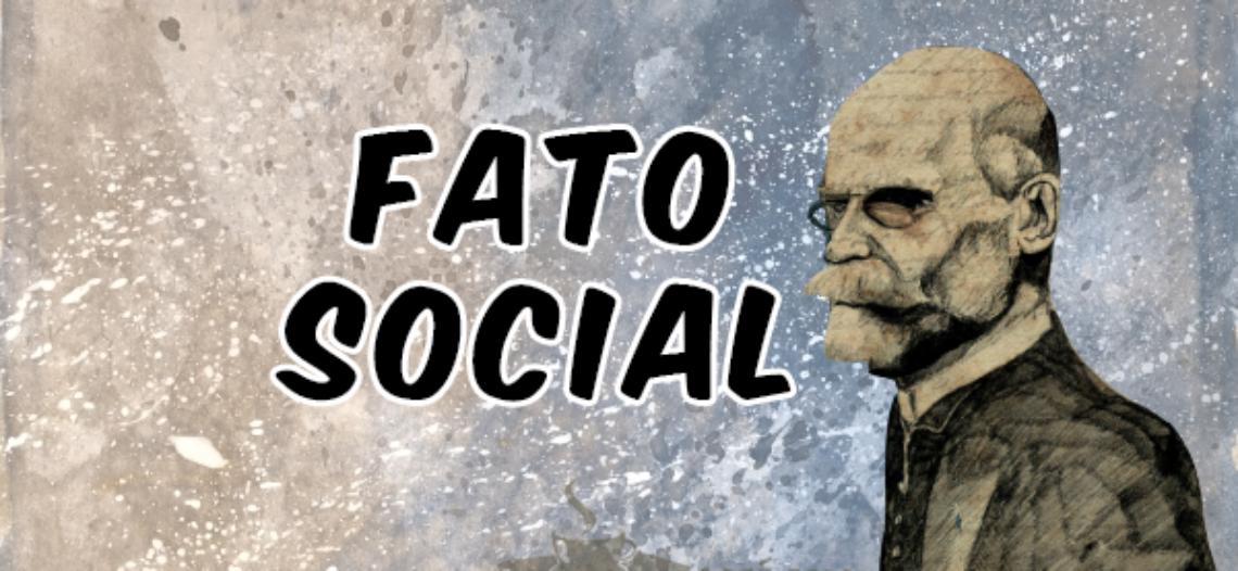 O fato social em Durkheim: A categoria nevrálgica da Sociologia.