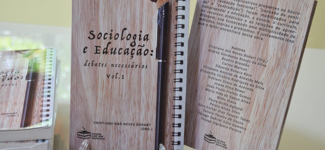 """[Já realizado] Sorteio do livro """"Sociologia e Educação: diálogos necessários"""", vol.1"""
