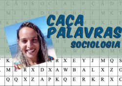Os três clássicos da Sociologia em Caça Palavras