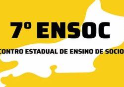 7º Encontro Estadual de Ensino de Sociologia do Estado do Rio de Janeiro