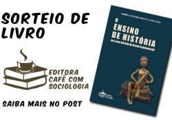 [Já realizado] Sorteio de livro: O ensino de História nos anos iniciais do Ensino Fundamental