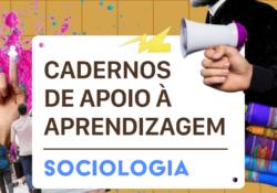 Cadernos de apoio de Sociologia para aulas remotas do Estado da Bahia